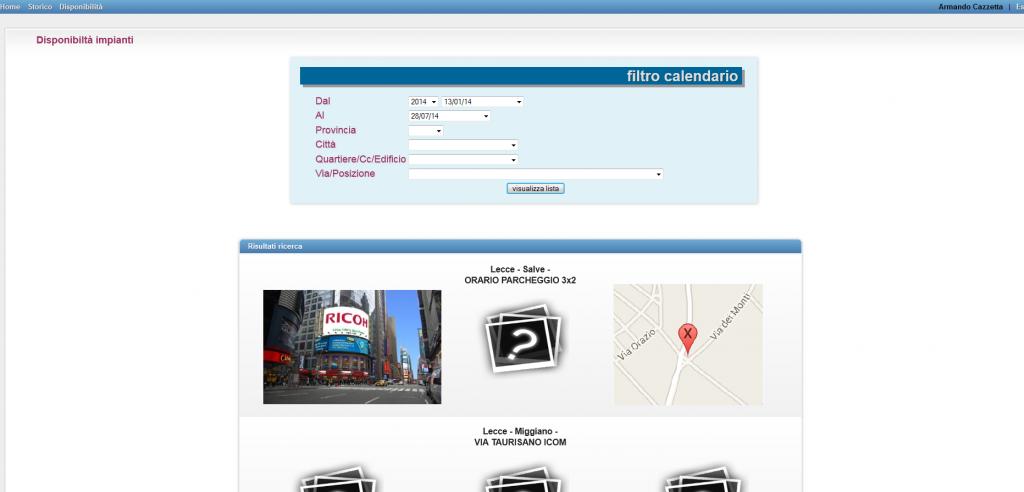 software gestione impianti pubblicitari